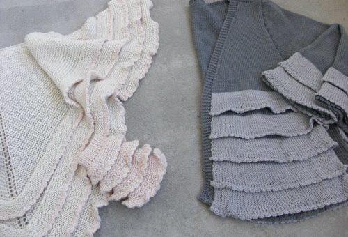 Kläder med volanger kan både framhäva och dölja